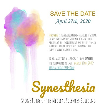 Synesthesia Art Exhibit - call for submissions